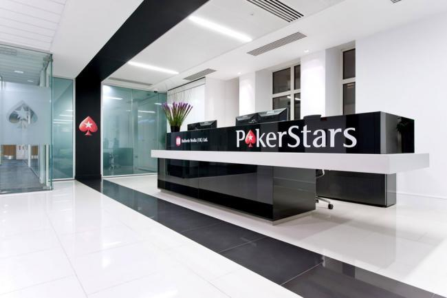 Офис PokerStars в Лондоне
