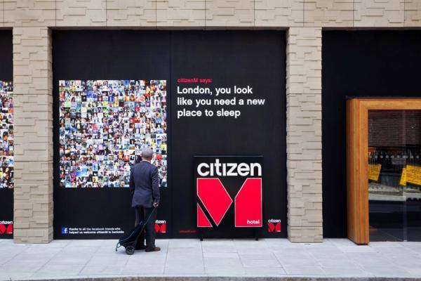 Отель citizenM London Bankside от Concrete Architectural Associates