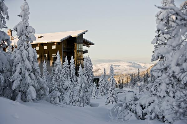 Отель Copperhill Mountain Lodge в Швеции